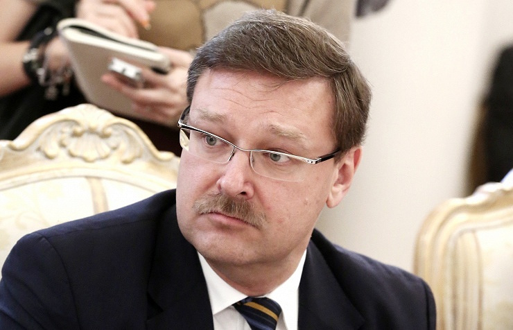 Head of the Federation Council's international affairs committee Konstantin Kosachev