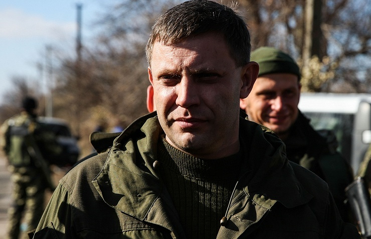 Head of the self-proclaimed Donetsk People Republic Alexander Zakharchenko