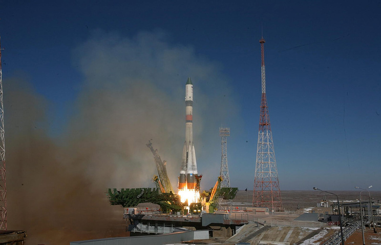 Soyuz-2.1a carrier rocket launch