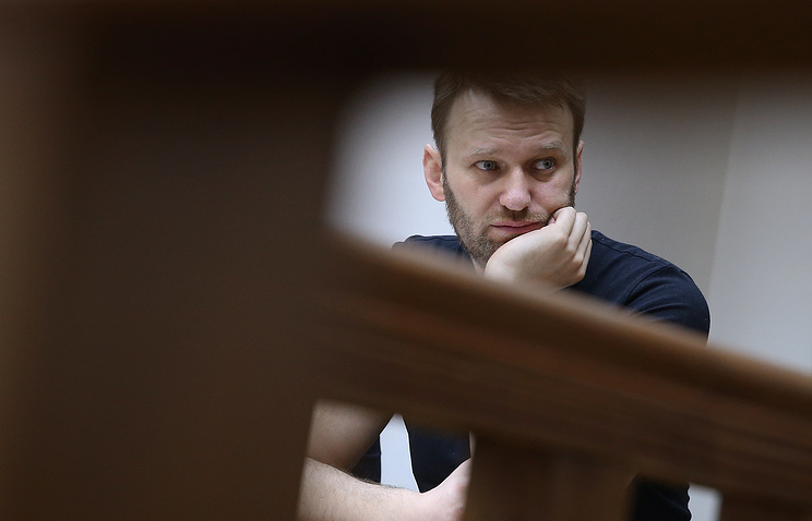 Russian oppositionist Alexey Navalny