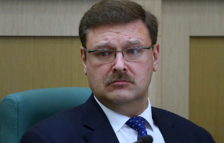 Head of the International Affairs Committee at the Federation Council Konstantin Kosachev