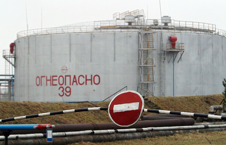 An oil refinery in Belarus