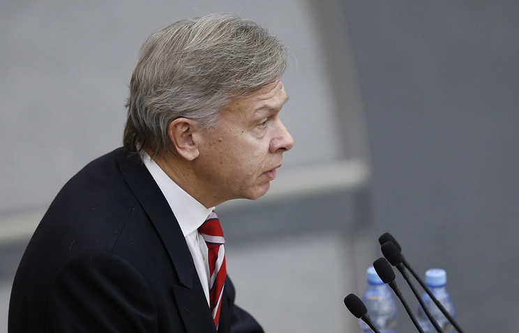 Head of the State Duma' committee on international affairs Alexey Pushkov