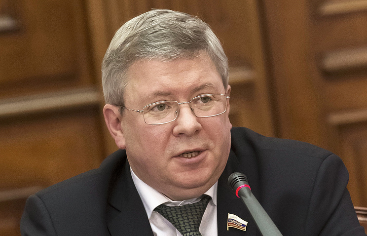 Deputy chairman of the Bank of Russia Alexander Torshin