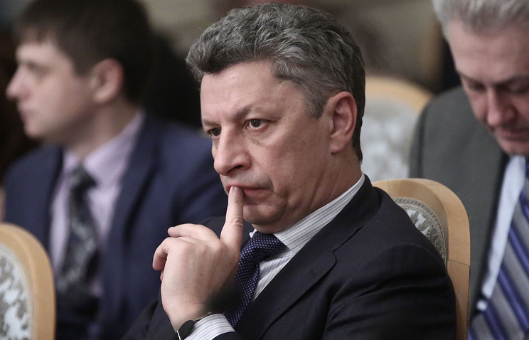 Chairman of the Opposition Bloc's parliamentary faction, Yury Boyko
