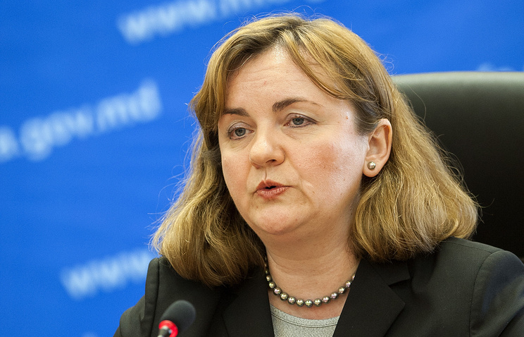 Moldovan Foreign and European Integration Minister Natalia Gherman