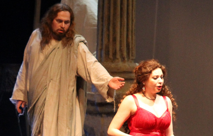 A scene from the opera