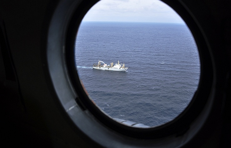 Search operation in the Okhotsk Sea