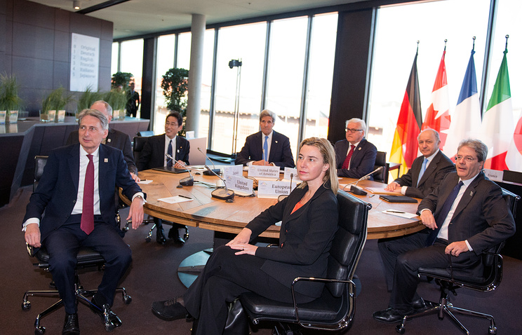 Meeting of G7 Foreign Ministers in Luebeck, Germany