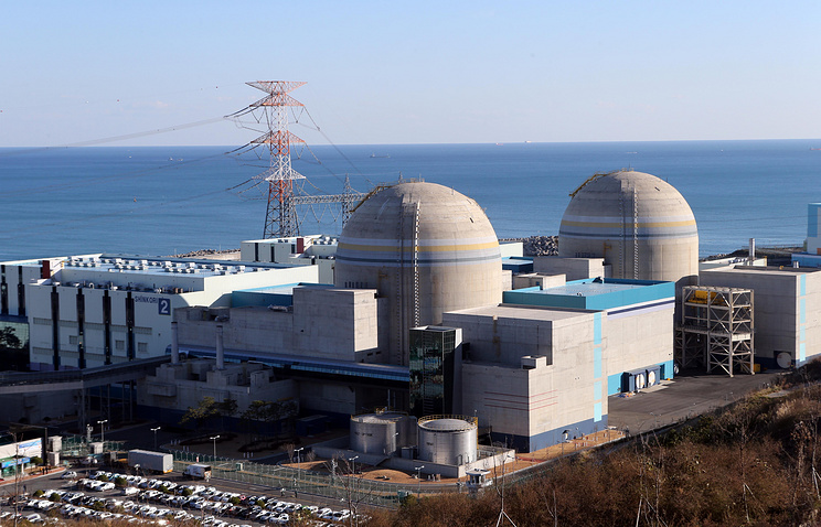 Nuclear power stations in South Korea