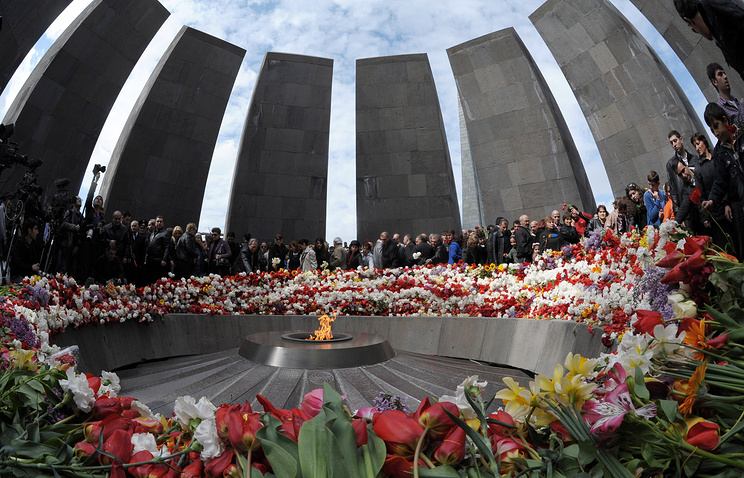 Genocide Memorial in Yerevan