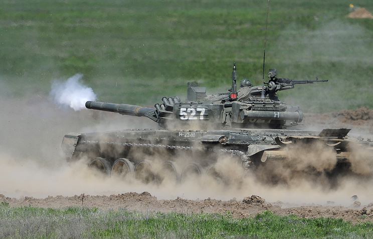 T-72B3 main battle tank