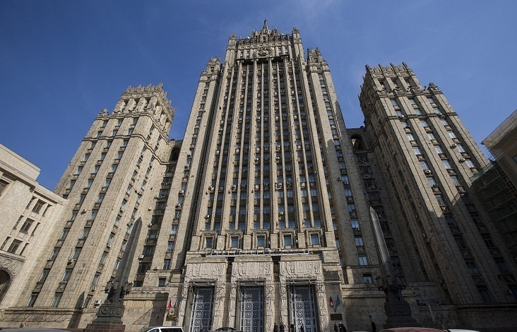Russia's Foreign Ministry bulding in Moscow