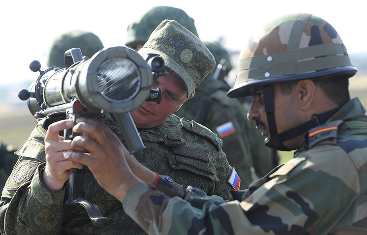 Russian-Indian tactical exercise (archive)