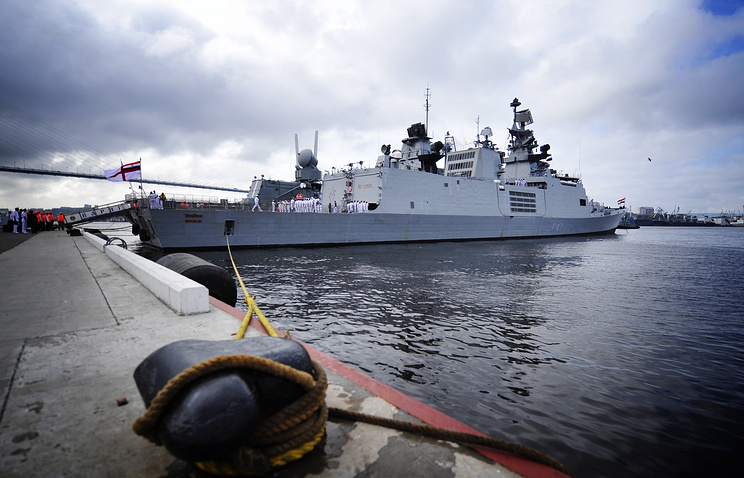 Indra-2014 joint naval exercises