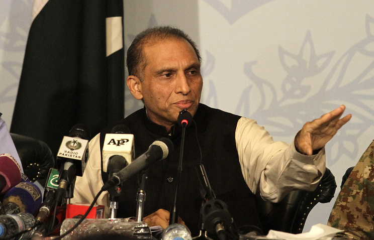 Pakistan's First Deputy Foreign Minister Aizaz Ahmad Chaudhry