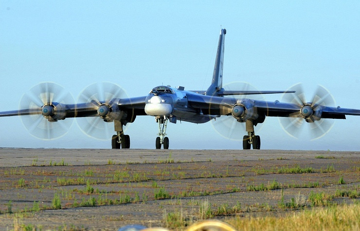 Tupolev Tu-95 strategic bomber (archive)