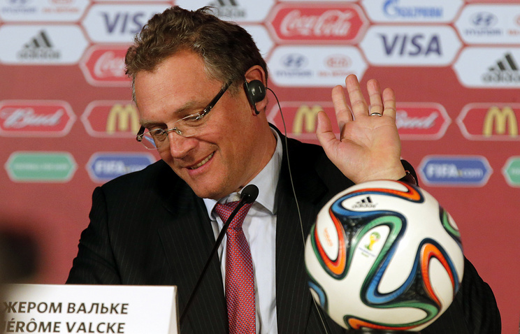 FIFA Secretary-General Jerome Valcke