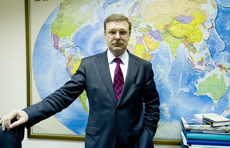 Head of Russia's Federation Council Committee on International Affairs Konstantin Kosachev