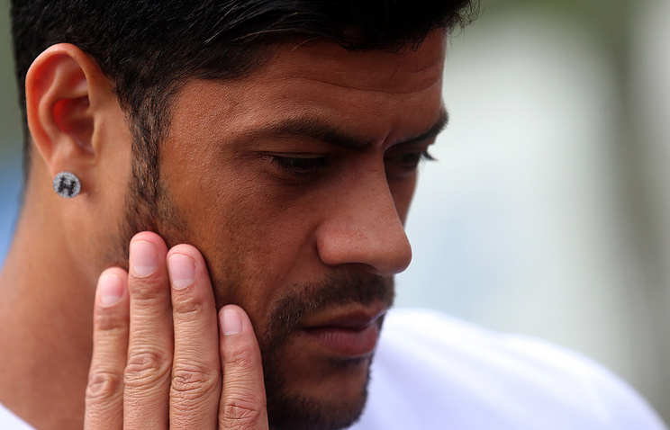 Brazilian forward Hulk