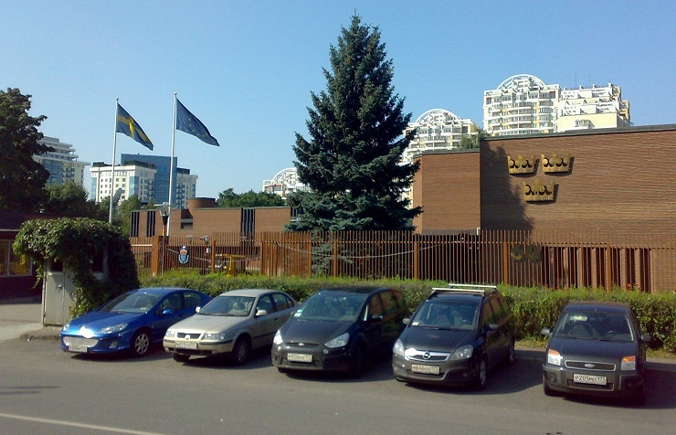 Sweden's embassy in Moscow