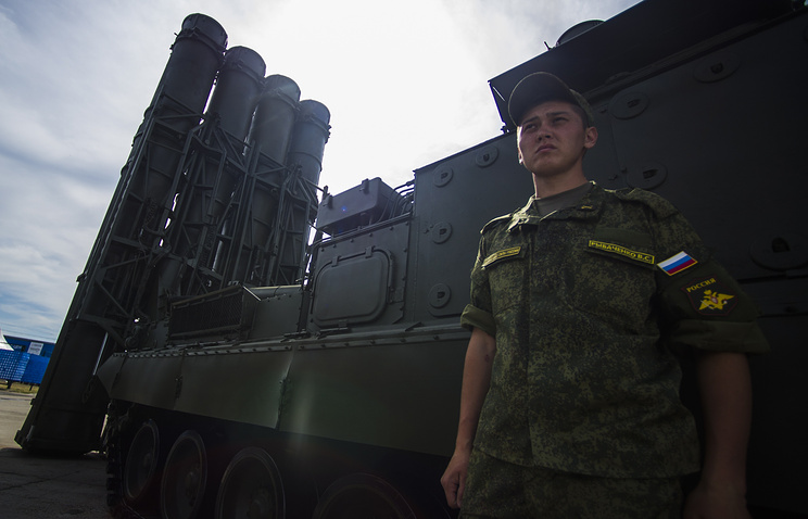 S-400 Triumf anti-aircraft weapon system