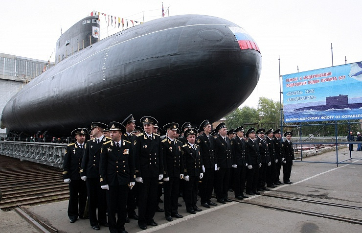 Diesel-electric submarine Vladikavkaz