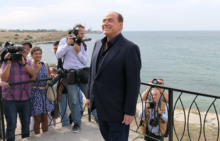 Silvio Berlusconi in Crimea