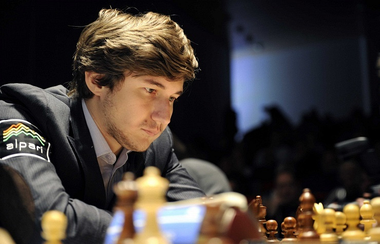 Russian chess player Sergey Koryakin