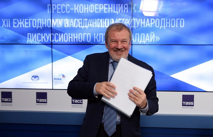 Andrey Bystritsky, the chairman of the Council at the Fund for the Valdai Club Development