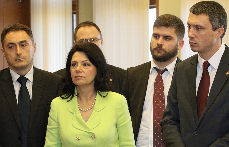 Serbian MPs at Crimea's State Council