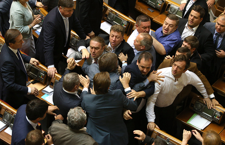 Ukrainian lawmakers, July 2014