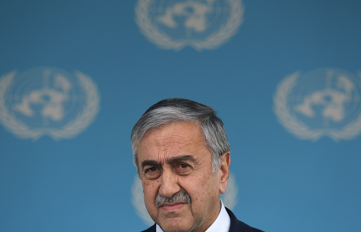 Mustafa Akinci, the leader of the unrecognized Turkish Republic of Northern Cyprus