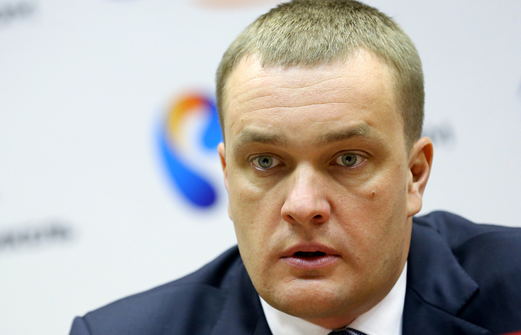 Andrey Vatutin, the president of the CSKA Moscow basketball club