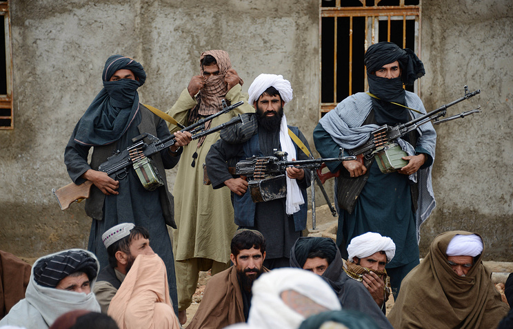 Afghan Taliban fighters