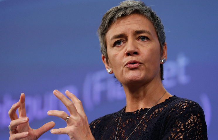 EU competition commissioner Margrethe Vestager