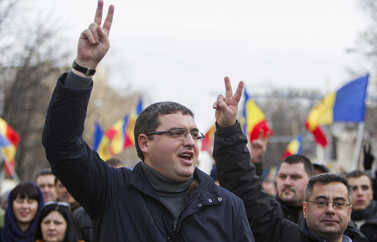 Leader of Moldova's Our Party Renato Usatii