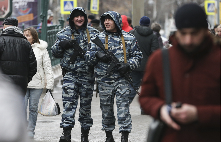 Police officers in Moscow (archive)