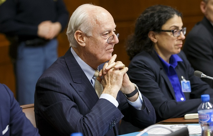 United Nations Syrian Envoy Staffan de Mistura