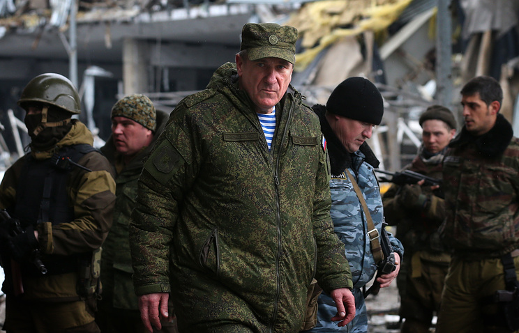 Russia's representative in the joint center for control and coordination of the Donbass ceasefire issues, March 2015