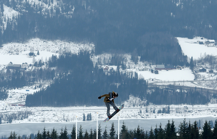 Snowboard Ladies' Slopestyle Finals at Winter Youth Olympic Games, Lillehammer, Norway