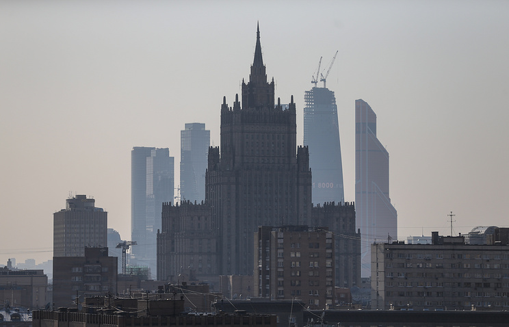 Russian Foreign Ministgry building in Moscow (archive)