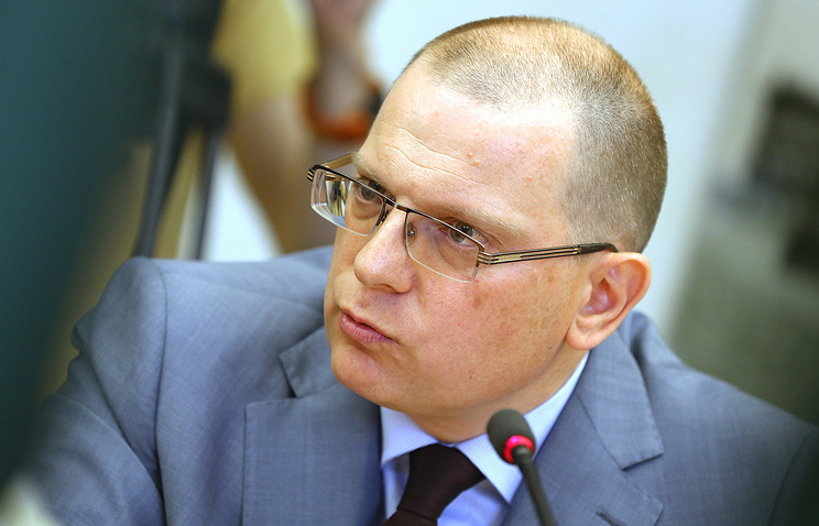 Russian Foreign Ministry's human rights commissioner Konstantin Dolgov