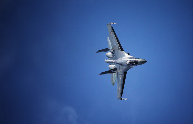 Sukhoi Su-35 fighter jet