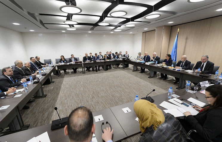 Syria peace talks in Geneva (archive)