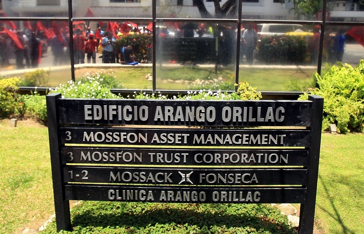 The headquarters of the law firm Mossack Fonseca in Panama City, Panama