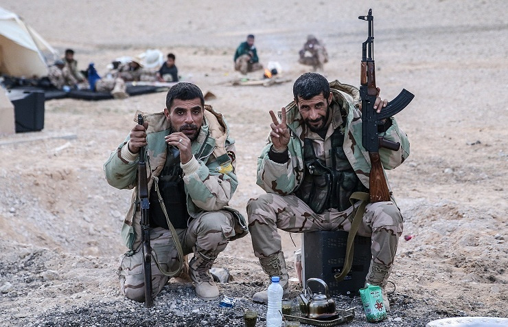 Syrian soldiers
