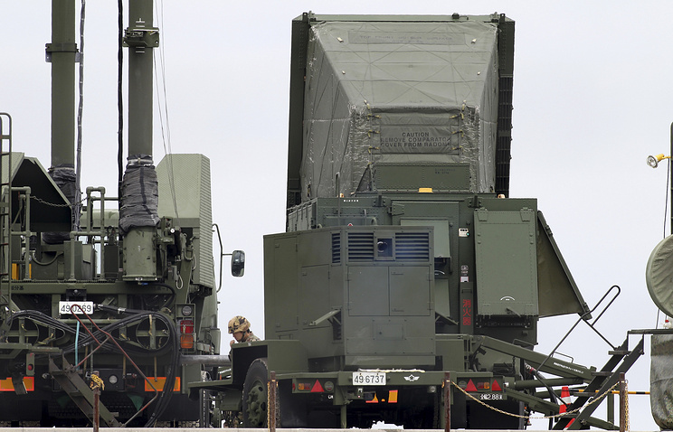 Patriot Advanced Capability (PAC-3) surface-to-air missile units are deployed at the Japan Air Self-Defense Force's Chinen Sub Base (archive)