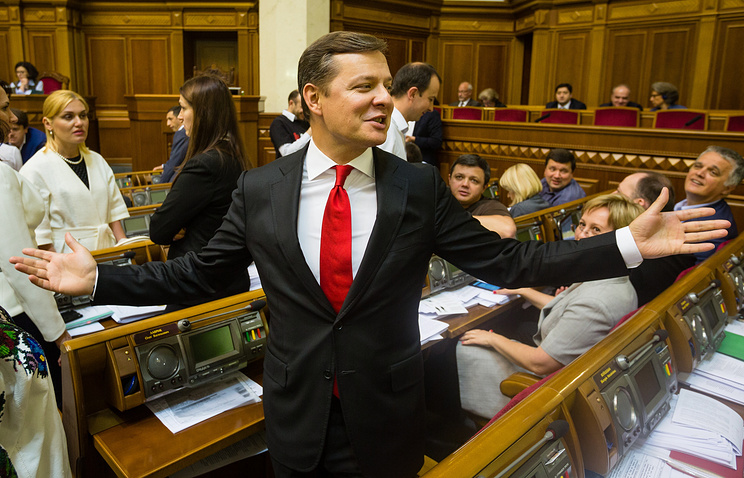Radical Party leader Oleg Lyashko