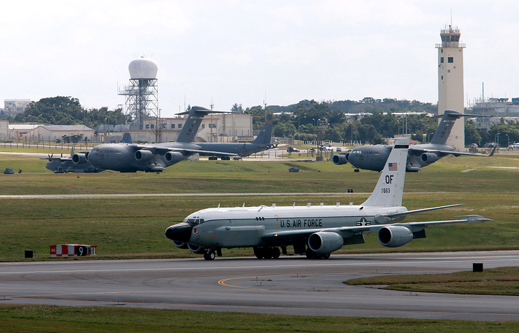 United States Air Force Boeing RC-135 reconnaissance aircraft